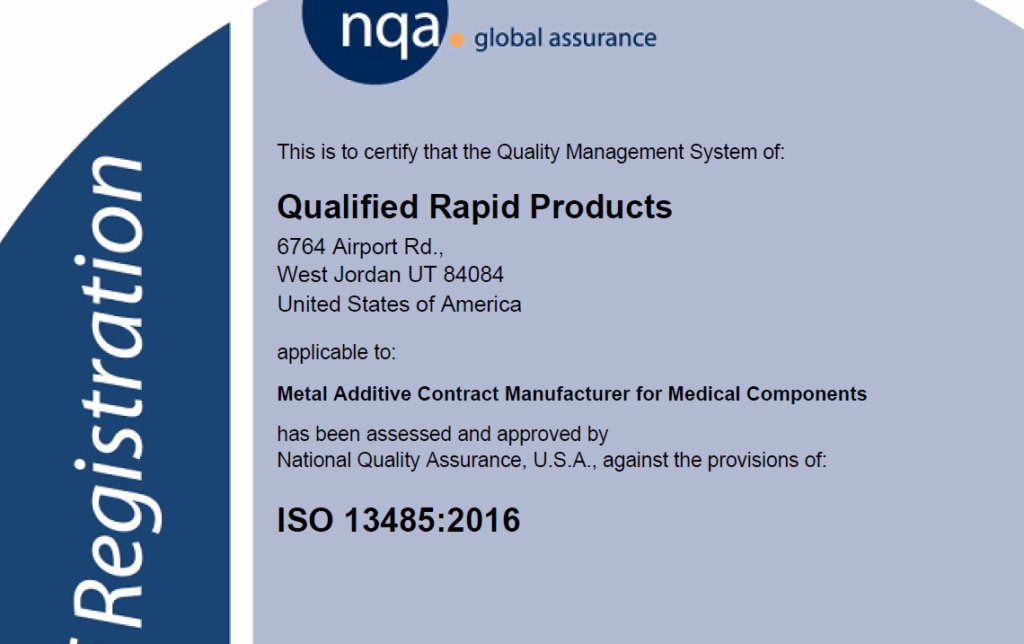 Iso 13485 Certification Qrp