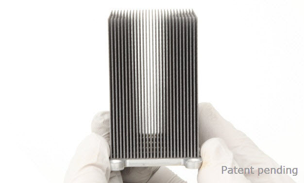 High Aspect Ratio Fins On Pyrolytic Graphite For Optimal Heat